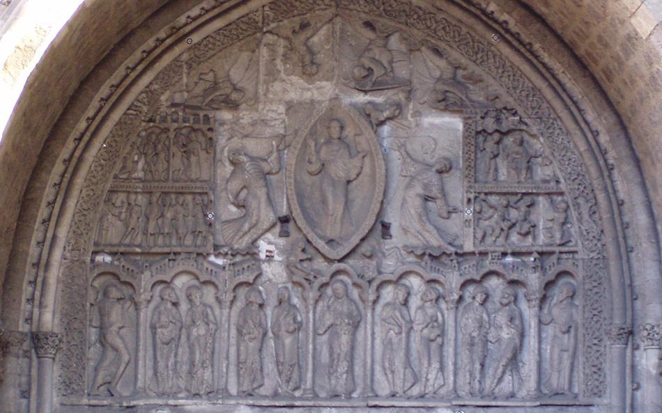 Le tympan de cahors - Cathedrale saint etienne de cahors ...